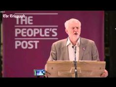 Jeremy Corbyn outlining his policies in Manchester Cathedral - YouTube