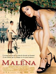 Malena / Giuseppe Tornatore / Ennio Moricone ---- This film is about jealousy and patriarchy and the mechanism in which those two are linked. See my post in Les Nuits Masquees.