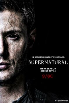 Supernatural Season 10 premieres October 14  by @justlostie