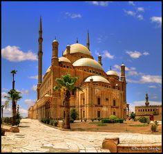 Cairo, Egypt. Mohamed Ali mosque