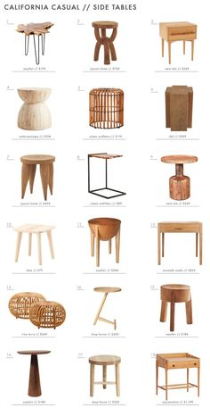 """Achieving the 'Effortless Expensive' Style: Furniture - Today we are touching back on that oh so casual, """"Effortless Expensive California"""" look that we chatted about a few weeks ago. In case you missed . Furniture Decor, Living Room Furniture, Living Room Decor, Furniture Design, Furniture Styles, Barbie Furniture, Furniture Outlet, Garden Furniture, Living Room Side Tables"""