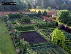 """Only the English would do a """"kitchen garden"""" like this."""
