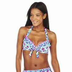 Apt. 9 Underwire Halter Bikini Top - Women's