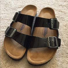 NEW Birkenstocks Have only been worn around my house! Never outside. Soft soles. Birkenstock Shoes