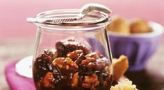 Plum Walnut Jam
