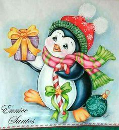 Christmas Yard Art, Christmas Rock, Christmas Drawing, Christmas Paintings, Christmas Animals, Christmas Signs, Christmas Pictures, Christmas Snowman, Vintage Christmas