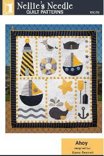 Ahoy quilt pattern by Nellie's Needles by ForSewItSeams2 on Etsy