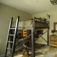 Francis Lofts Aluminum Open Loft Bed | FREE SHIPPING