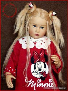 Коллекционная кукла KAROLINE от Sissel Bjorstadt Skille, GÖTZ / Коллекционные куклы Sissel Bjorstadt Skille / Бэйбики. Куклы фото. Одежда для кукол