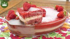 Na travessa: paleta mexicana de morango com leite condensado
