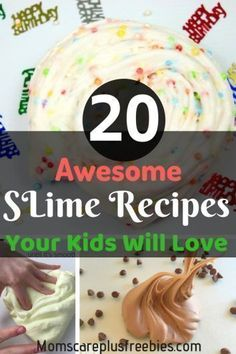 20 Creative and Stress-Free Slime Recipes Moms Can Make with Kids in Few Minutes