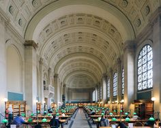 Boston Public Library #architecture #boston #travel #fujifilm #xt1 #vsco