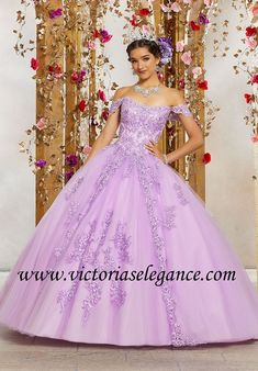 c571e3b9b7f Crystal Beaded Embroidery on Princess Tulle Ball Gown Morilee 89231