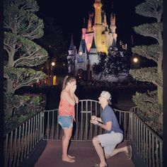 That's not a tear in my eye! Shut up!  24 Ways to get engaged at the Disney parks