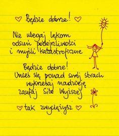 Beata Pawlikowska Food For Thought, Love Life, Pray, Sheet Music, Writer, Math Equations, Thoughts, Education, Words