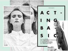 Acting Basic for Stories Collective on Behance