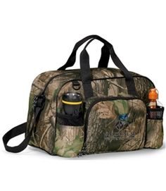 8f213740cc2 Apex Camo Sport Bag - Dual mesh front pockets ideal for storing water  bottles and other