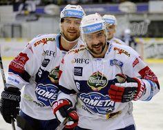 Kometa - Plzeň  8:5  (30.10.2016) Ice Hockey, Baseball Cards, Sports, Hs Sports, Sport, Hockey Puck, Hockey