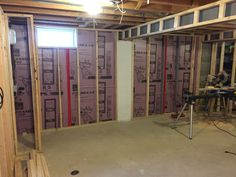DIY Framing in finished basement