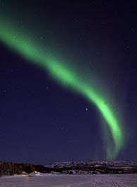 see the northern lights in person.