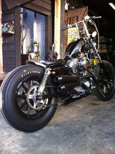 there's nothin' like firestones on a sportster.