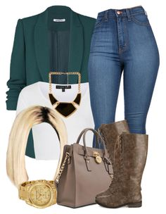"""""""11 10 14"""" by miizz-starburst ❤ liked on Polyvore featuring Topshop, Forever 21 and Michael Kors"""