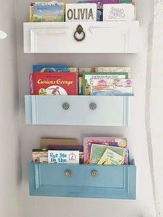 how to upcycled dresser drawers into shelves, painted furniture, repurposing upcycling Refurbished Furniture, Repurposed Furniture, Furniture Makeover, Painted Furniture, Home Furniture, Furniture Ideas, Office Furniture, Furniture Movers, Luxury Furniture