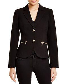 CALVIN KLEIN Two Button Blazer. #calvinklein #cloth #blazer