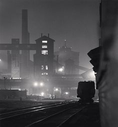 #Michael Kenna industrial night shot some of my favorite work