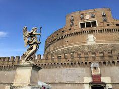 Castel Sant'Angelo. #roma #rome #receitaitaliana #receitas #receita #recipe #ricetta #cibo #culinaria #italia #italy #cozinha #belezza #beleza #viagem #travel #beauty #castelsantangelo