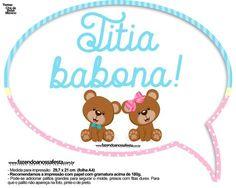 Uau! Veja o que temos para Plaquinha Divertida Chá Revelação - Titia Babona Cute Baby Shower Ideas, Baby Boy Shower, Cute Babies, Amanda, Jasper, Blazers, Van, Christian, Baby Shower Signs