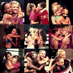 They're friendship its amazing they are always competing and are happy when someone win! :)