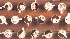 Where's my cup? :) Cute little vid to make you smile & want coffee, lol! Stop-Motion Video Uses 1,000 Lattes To Tell A Love Story