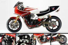Honda CB1100R custom details