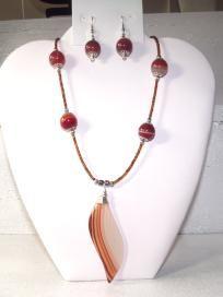 Botswana Agate Necklace Set*** free shipping***