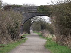 The Dungeon Bridge.  A walk along the Wirral Way