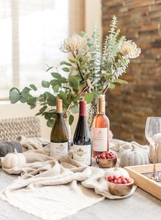 How to Host A Wine Tasting Friendsgiving - Inspired By This