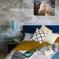 I've not had much chance to relax at home recently so really missing this space! Specially my mystic horse who looks over my little family. photograph by the talented 🐴. Interior Design London, London Brighton, Marble Tiles, Mystic, My Design, Photograph, Relax, Horse, Couch