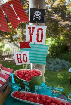 Arggg! Fun Pirate Birthday Party Photos + Inspiration!