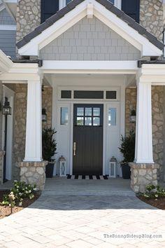 Craftsman front door