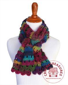 Crochet Treasures: Dew Drop Wrap