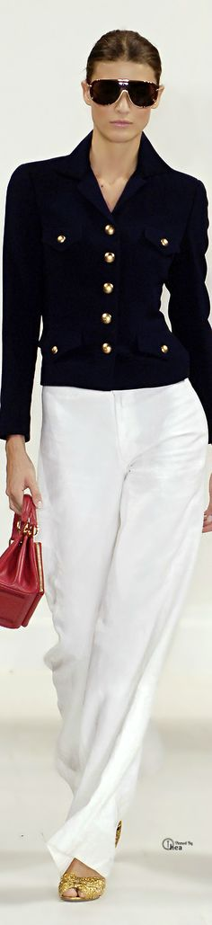 Ralph Lauren.. So ralph. so chic, so nautical.....so love