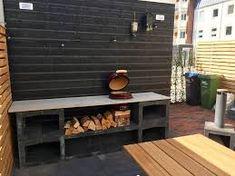u element – Google Søgning Diy Outdoor Kitchen, Bbq Kitchen, Outdoor Cooking, Backyard Bar, Backyard Kitchen, Backyard Landscaping, Small Patio Design, Outdoor Patio Designs, Kamado Bbq