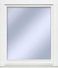 Ekstrands sidohängda inåtgående fönster EC/90. #Ekstrands #fönster #energispar Flat Screen, Mirror, Furniture, Home Decor, Blood Plasma, Decoration Home, Room Decor, Mirrors, Flatscreen