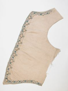 Waistcoat part National Trust Inventory Number 1361219.2 Date	1750 Materials	Silk Collection	Killerton, Devon (Accredited Museum)