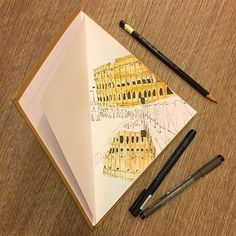 #1 #colosseum #rome #sketch #sketchbook  #watercolor #watercolorsketch #ink #inksketch #sketchoftheday #illustration #illustrationoftheday #illustrations #illustrator #italy #italiancity #italiantrip #sketchingitaly #projectitalysketchbook #sketchbookproject