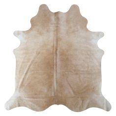 Nevada Cream Cowhide rug | Decohides® #CowhideRugs