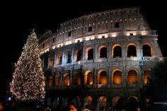 Las 15 postales de la Navidad en el mundo Navidad Coliseo de Roma
