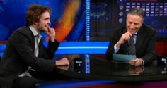 Robert Pattinson is back in the public eye after doing his first post Kristen Stewart break-up interview on the Daily Show with Jon Stewart and today he'll ring the NYSE bell while promoting Cosmopolis with some Twilight Saga: Breaking Dawn Part 2 thrown in the mix. The press reported that The