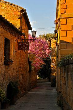 """breathtakingdestinations: """" Pienza - Italy (von DarkB4Dawn) """"Siena Tuscany"""